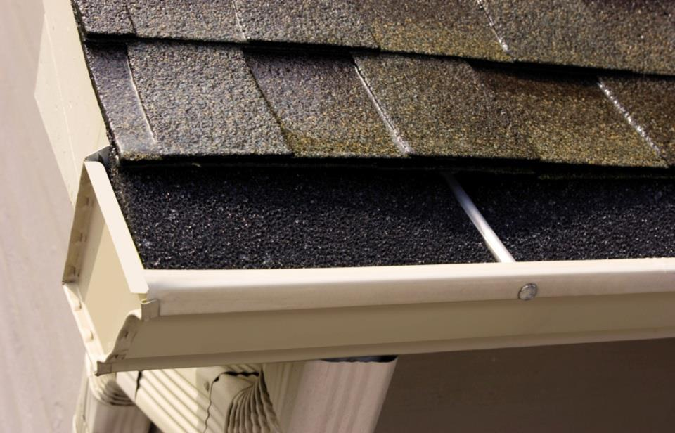 Window Genie's foam gutter protection product that keeps out bugs and leave protecting your downspouts.