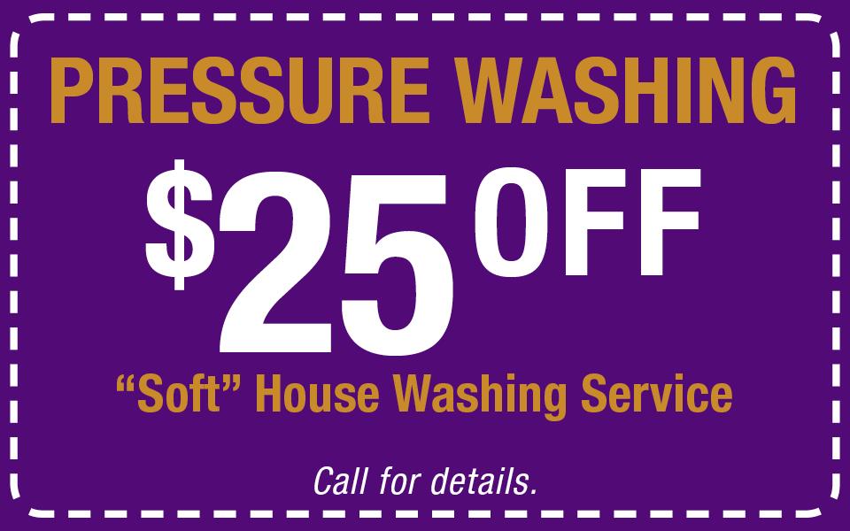 Pressure Washing Coupon