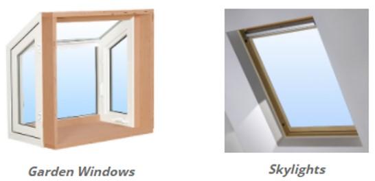 window genie specialty window styles