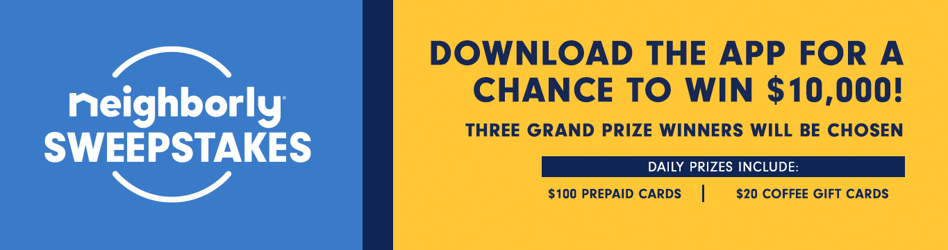 Download the app for a chance to win $10,000